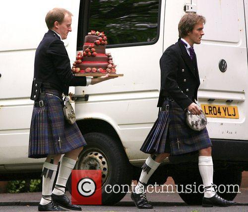 The wedding of Caleb Knightley and Kerry Nixon...