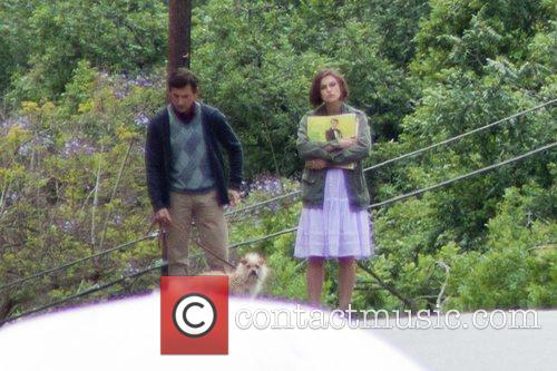 Steve Carrell and Keira Knightly are seen on...