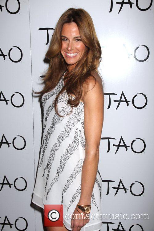 Kelly Bensimon celebrates her birthday at Tao nightclub...