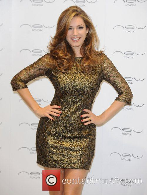 Kelly Brook  opens the New Look boutique...