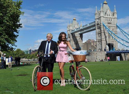 Boris Johnson and Kelly Brook 3