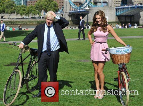 Boris Johnson and Kelly Brook 8