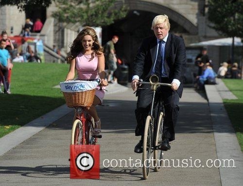 Boris Johnson and Kelly Brook 6