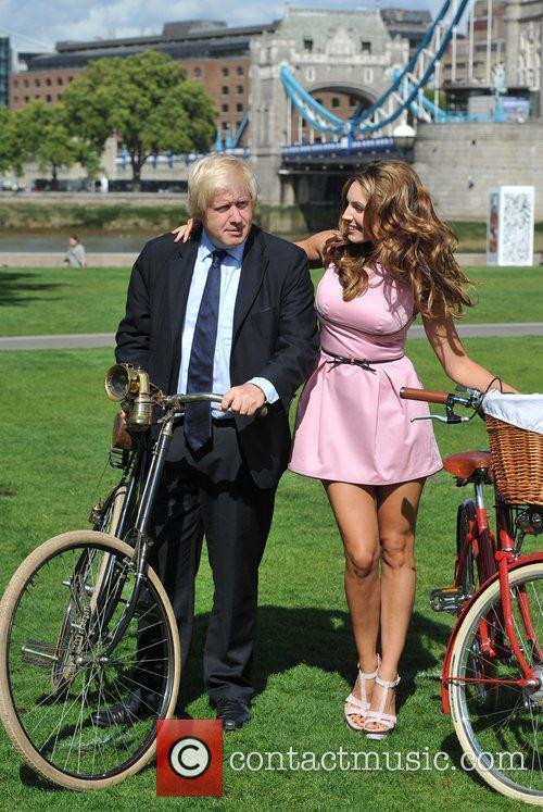 Launch the Mayor of London Sky Ride at...