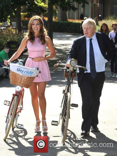 Boris Johnson and Kelly Brook 9
