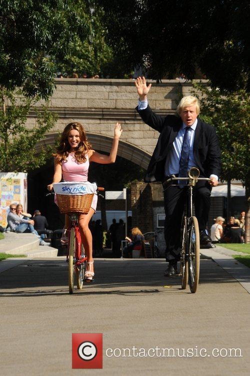 Boris Johnson and Kelly Brook 11