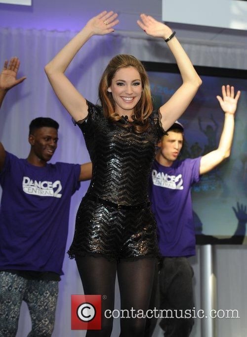 Kelly Brook  The launch of Dance Central...