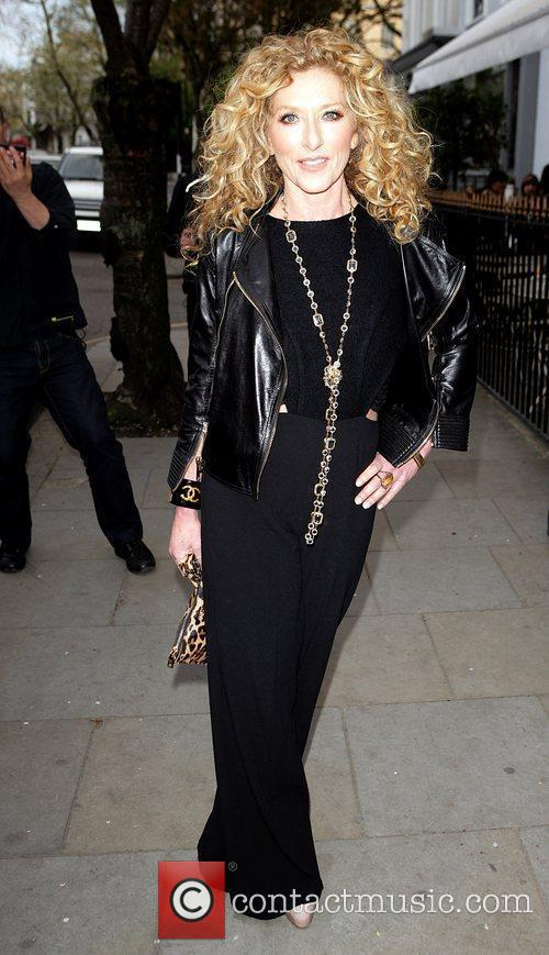 Kelly Hoppen arrives at the book launch party...