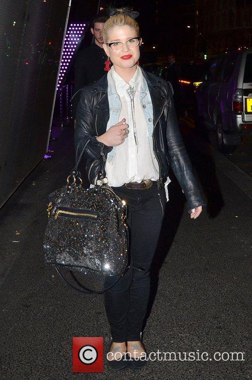 Kelly Osbourne,  leaving 'Kesha's gig afterparty' at...