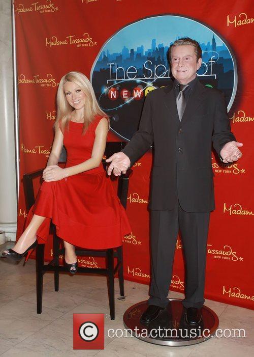 The waxwork figures of Kelly Ripa and Regis...