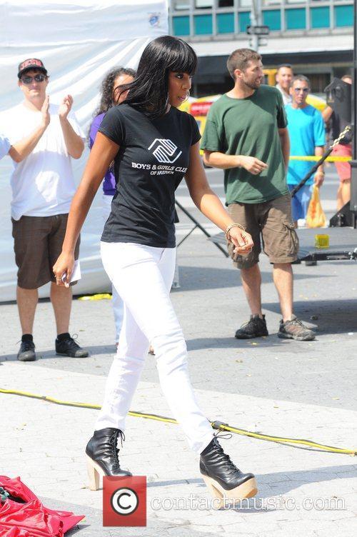 Kelly Rowland, Boys & Girls Clubs of America...