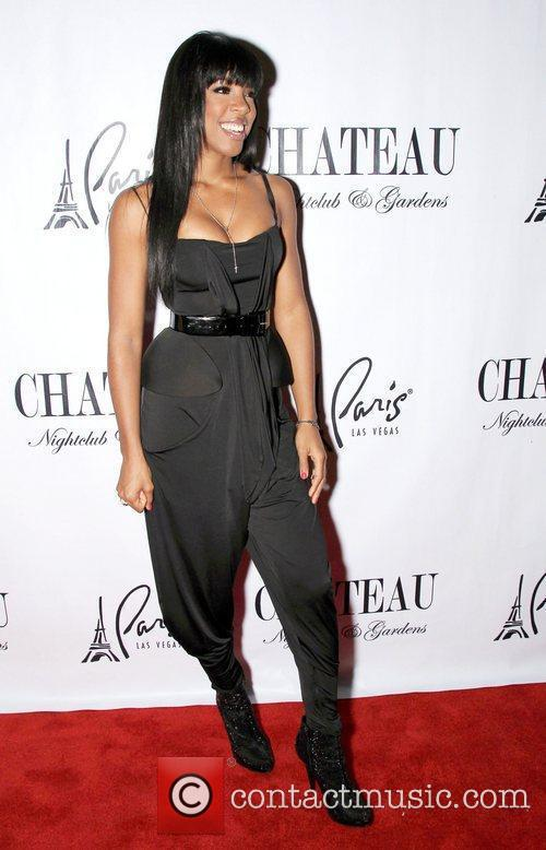 Kelly Rowland arrives to perform at Chateau Nightclub...