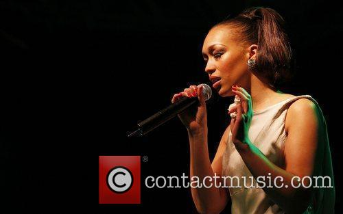 Rebecca Ferguson of 2010 X Factor performing live...