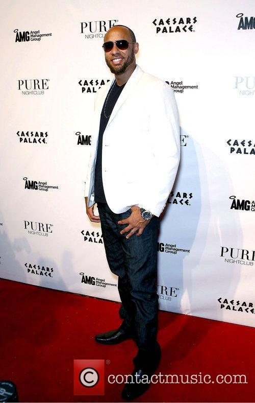 Hank Baskett and Pure Nightclub 9
