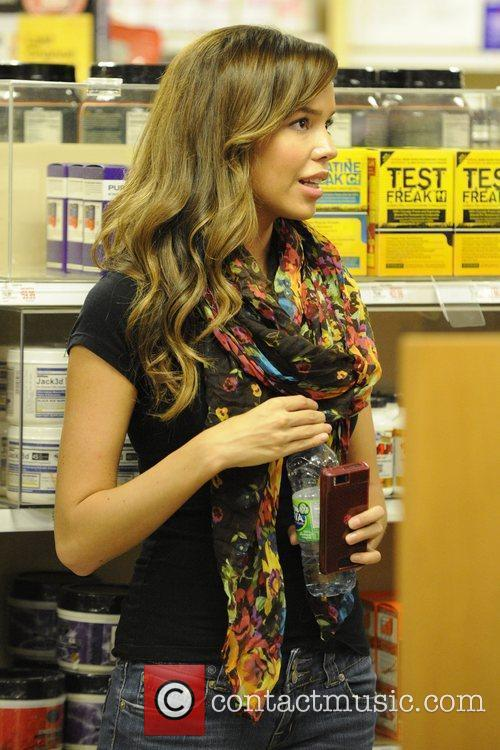 June 2007 Playboy Playmate spotted at GNC in...