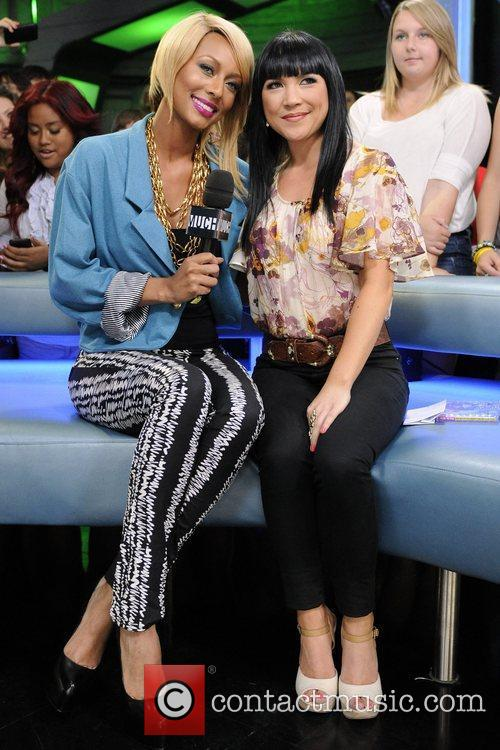 Keri Hilson and Lauren Toyota  appear on...