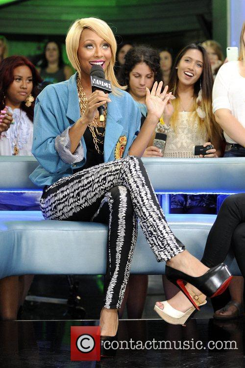 Keri Hilson appears on Much Music's 'New.Music.Live.' Toronto,...