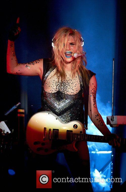 Kesha aka Ke$ha  performs live in concert...