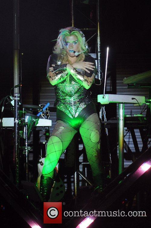 Ke$ha performs during the Get Sleazy Tour 2011...
