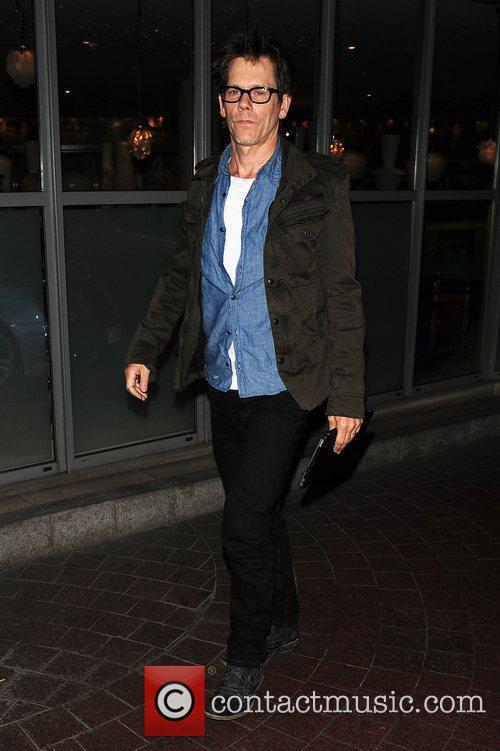 Kevin Bacon out and about London, England