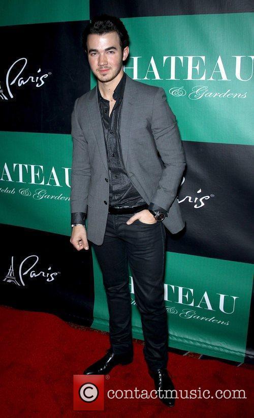 Kevin Jonas celebrates his birthday at Chateau Club...