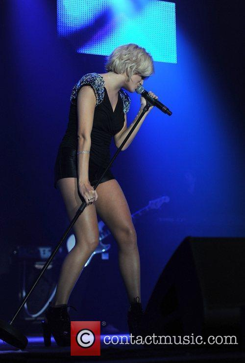 Pixie Lott  performing at Key 103 Live...