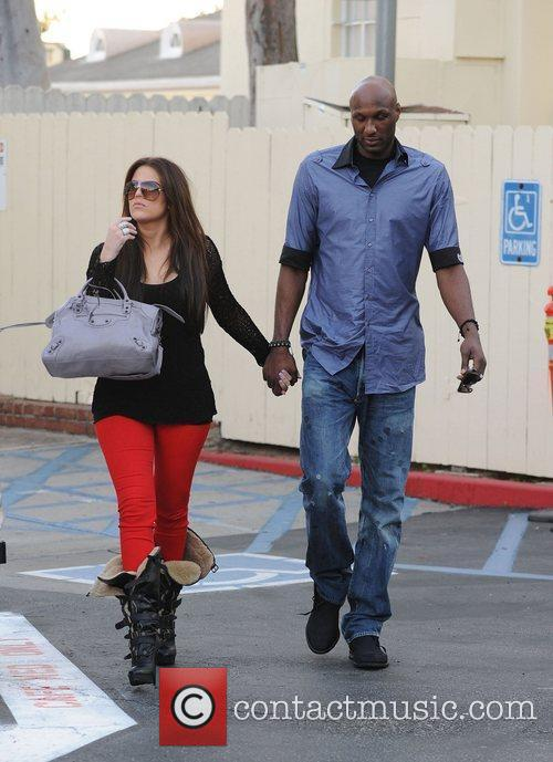 Khloe Kardashian and Lamar Odom 13