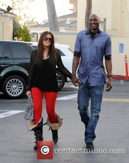 Khloe Kardashian and Lamar Odom 14