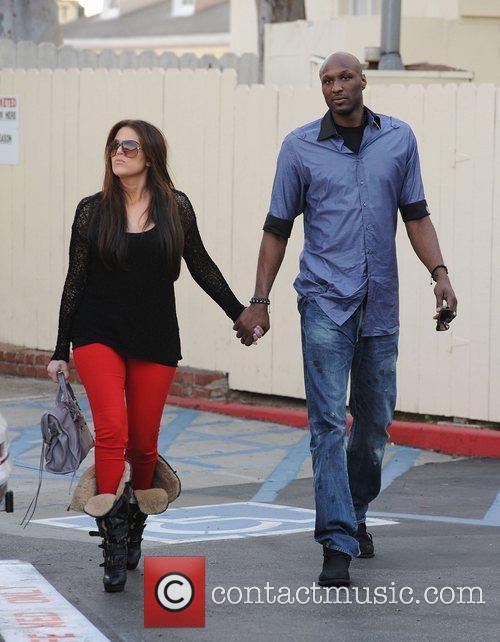 Khloe Kardashian and Lamar Odom 9