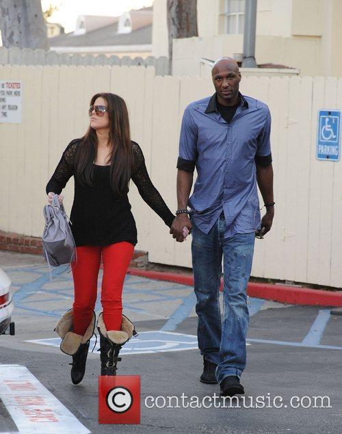 Khloe Kardashian and Lamar Odom 3