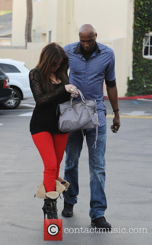 Khloe Kardashian and Lamar Odom 8