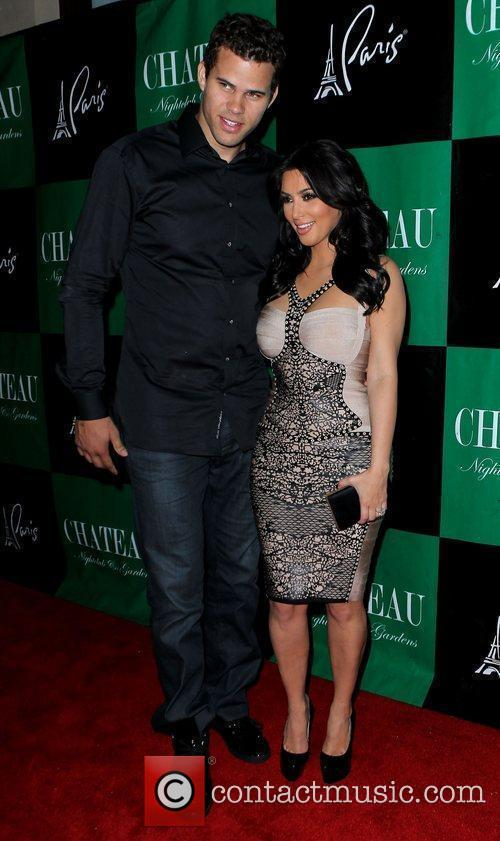 Kris Humphries and Kim Kardashian 1