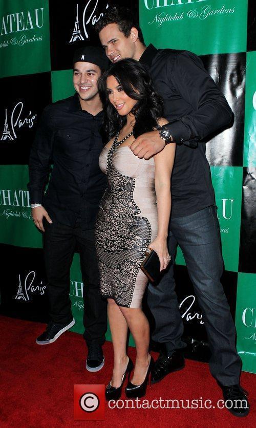 Kim Kardashian, Rob Kardashian, Kris Humphries