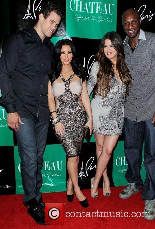 Kris Humphries, Khloe Kardashian, Kim Kardashian and Lamar Odom 3