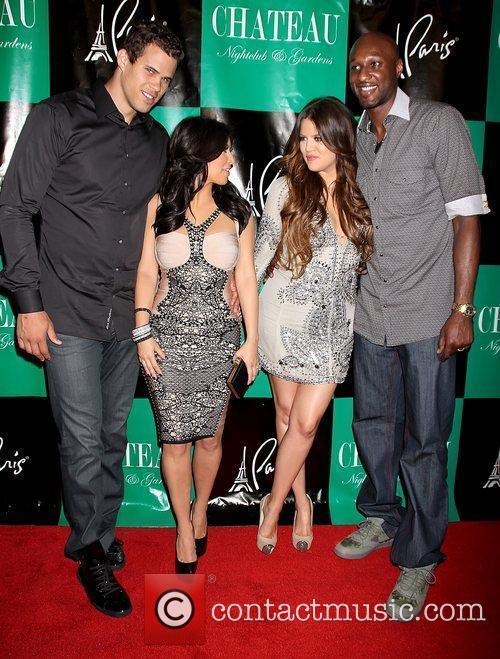 Kris Humphries, Khloe Kardashian, Kim Kardashian and Lamar Odom 9