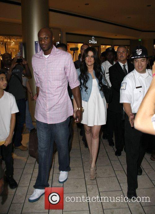 Khloe Kardashian and Lamar Odom 1