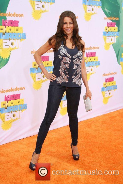 Sofia Vergara Nickelodeon's 2011 Kids Choice Awards held...