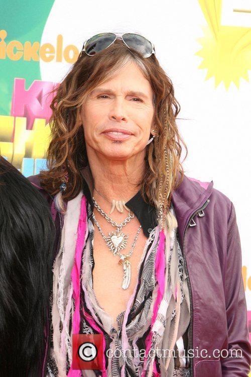 Steven Tyler Nickelodeon's 2011 Kids Choice Awards held...