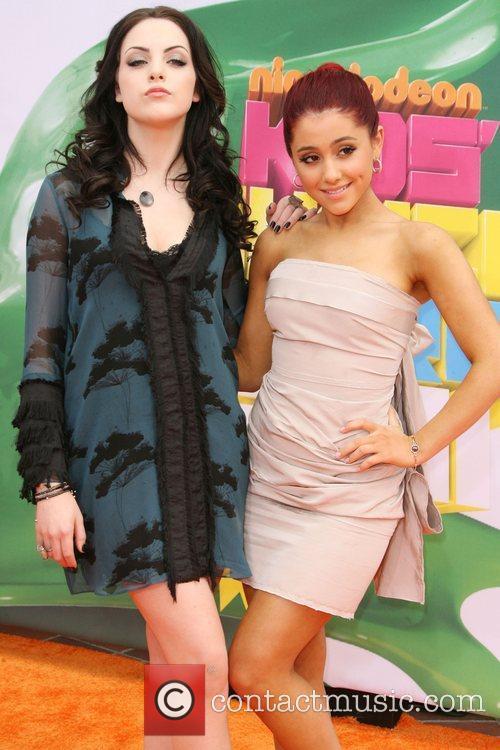 Elizabeth Gillies and Ariana Grande Nickelodeon's 2011 Kids...