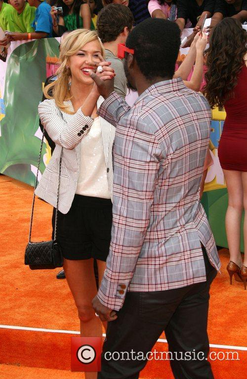 Arielle Kebbel and will.i.am Nickelodeon's 2011 Kids Choice...
