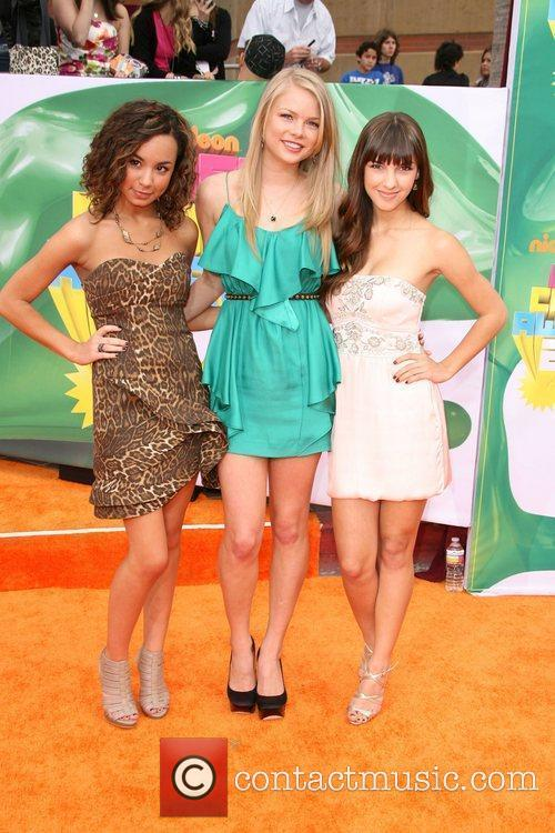 Savannah Jayde, Kelli Goss and Denyse Tontz Nickelodeon's...