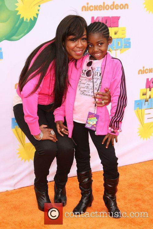 Tichina Arnold and daughter Nickelodeon's 2011 Kids Choice...