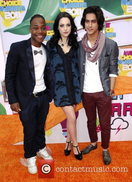 Cast of Victorious Nickelodeon's 2011 Kids Choice Awards...