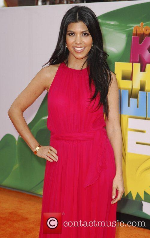 Kourtney Kardashian Nickelodeon's 2011 Kids Choice Awards held...