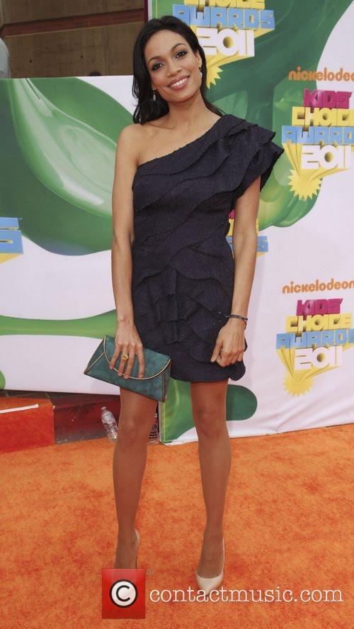 Rosario Dawson Nickelodeon's 2011 Kids Choice Awards held...