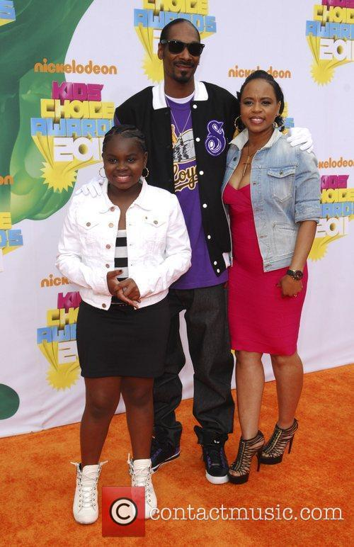 Snoop Dogg and wife Shante Taylor Nickelodeon's 2011...