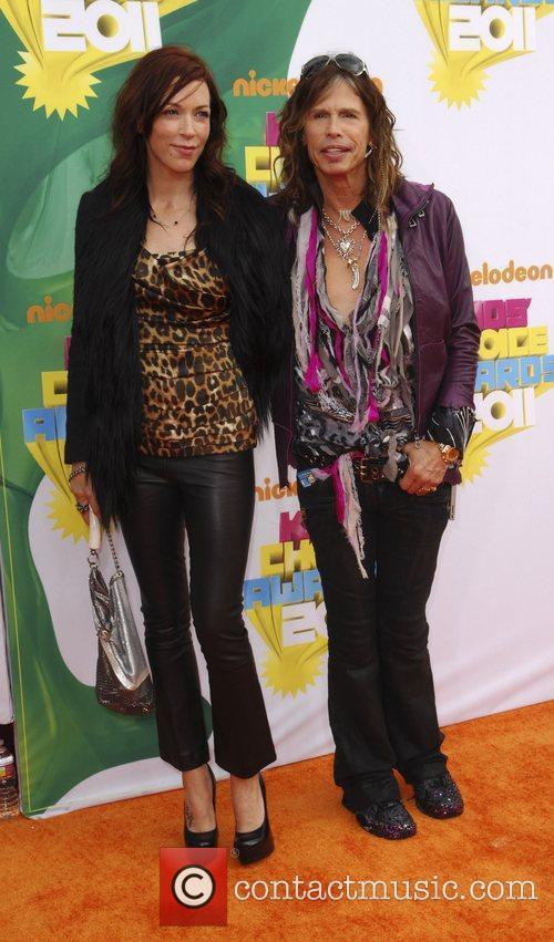 Erin Brady and Steven Tyler Nickelodeon's 2011 Kids...