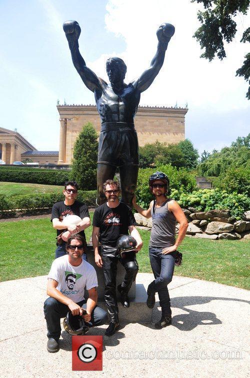 Kiehl's 2nd annual 'LifeRide for amfAR' charitable motorcycle...