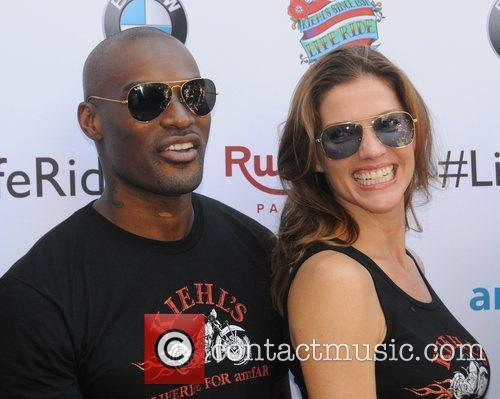 Tyson Beckford and Tricia Helfer 5