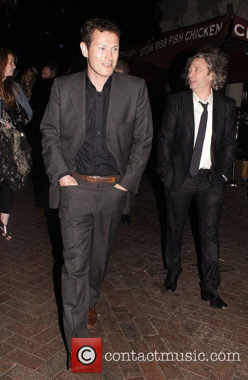 Nick Moran and Dexter Fletcher 'Killing Bono' Afterparty...